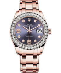 Rolex Pearlmaster Ladies Watch Model 86285-AUBDIA