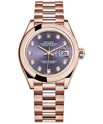 Rolex Datejust Ladies Watch Model M279165-0019