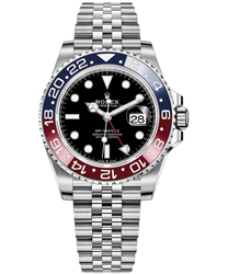 Rolex GMT Master II Men's Watch Model: 126710BLRO