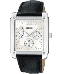 Seiko Retrograde Day-Date Mens Wristwatch