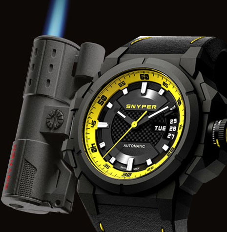 Snyper Snyper Two Yellow Limited Edition Men's Watch Model 20.260.00 Thumbnail 3
