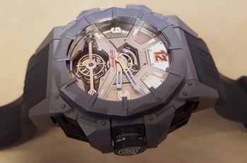 Snyper Tourbillon F117 Men's Watch Model 70.910.00CVL Thumbnail 5