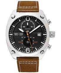 SO & CO Monticello Men's Watch Model 235285BLACK