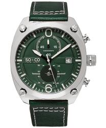 SO & CO Monticello Men's Watch Model 235285GREEN