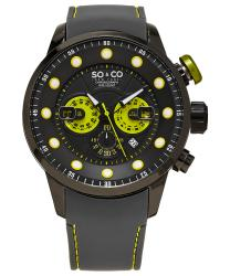 SO & CO Monticello Men's Watch Model: 345270BLACK