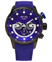 SO & CO Monticello Men's Watch Model 345270PURPLE