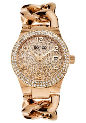 SO & CO SoHo Ladies Watch Model 495083ROSE