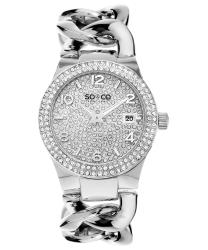 SO & CO SoHo Ladies Watch Model 495083SILVER