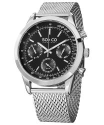 SO & CO Monticello Men's Watch Model: 625006SILVER