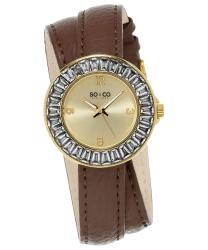 SO & CO SoHo Ladies Watch Model 655070BROWN