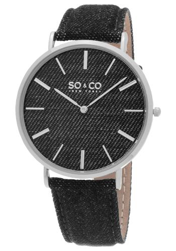 SO & CO SoHo Unisex Watch Model 895103BLACK
