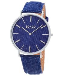 SO & CO SoHo Unisex Watch Model 895103BLUE