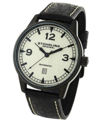 Stuhrling Tuskegee Flier Mens Wristwatch
