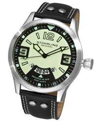Stuhrling Eagle Brigade Mens Wristwatch