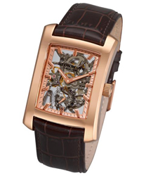 Stuhrling Gatsby Skeleton Mens Wristwatch