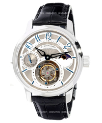 Stuhrling Tourbillon Mens Wristwatch Model: 296A.3315X2