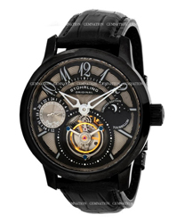 Stuhrling Tourbillon Mens Wristwatch Model: 296A.3355X13