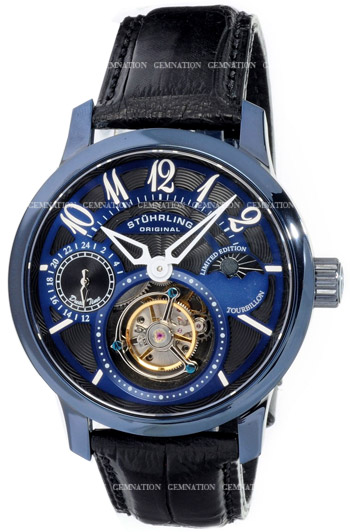 Stuhrling Imperial Tourbillon Second Edition Mens Wristwatch Model: 296A.33L5X81