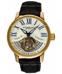 Stuhrling Tourbillon Mens Wristwatch Model: 296B.3335X2