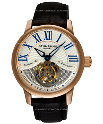 Stuhrling Tourbillon Mens Wristwatch Model: 296B.3345X2