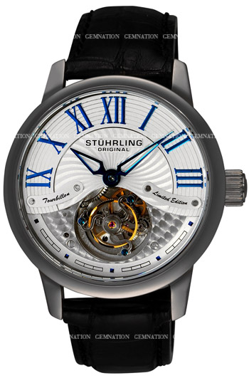 Stuhrling Dynasty Tourbillon Mens Wristwatch Model: 296B.33F5X2