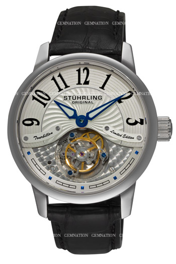 Stuhrling Imperial Tourbillon Third Edition Mens Wristwatch Model: 296B2.33FX2