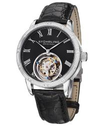 Stuhrling Tourbillon Diamond Dominus Mens Watch Model 312S.3315X1