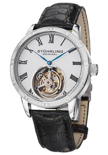 Stuhrling Tourbillon Diamond Dominus Men's Watch Model 312S.3315X3