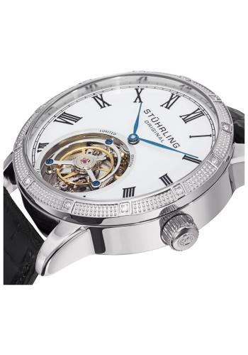 Stuhrling Tourbillon Diamond Dominus Men's Watch Model 312S.3315X3 Thumbnail 2