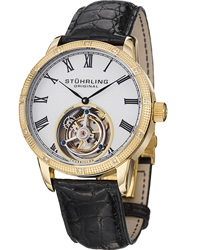 Stuhrling Tourbillon Diamond Dominus  Men's Watch Model 312S.3335X15