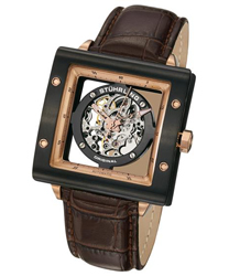Stuhrling Zeppelin Square Mens Wristwatch