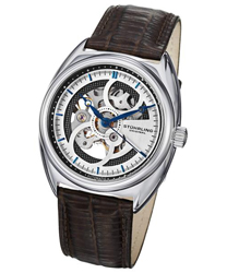 Stuhrling Tandem Skeleton Mens Wristwatch