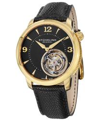 Stuhrling Tourbillon Toubillon Le Mechanical Mens Watch Model 390.333X51