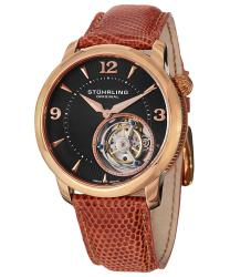 Stuhrling Tourbillon Toubillon Le Mechanical  Mens Watch Model 390.334XK1