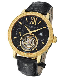 Stuhrling Damier Tourbillon Mens Wristwatch
