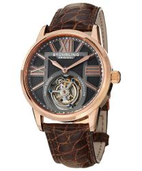 Stuhrling Tourbillon Grand Imperium Mens Watch Model 537.334XK54