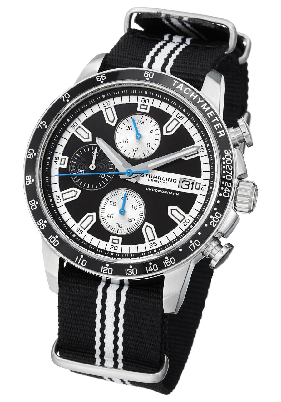 Stuhrling Monaco Men S Watch Model 678 01