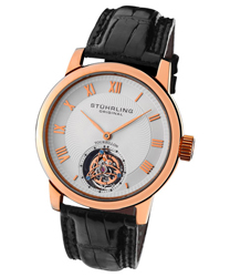 Stuhrling Kings Court Swiss Tourbillon Mens Wristwatch