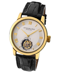 Stuhrling Kings Court Swiss Tourbillon Mens Watch Model KCTYG