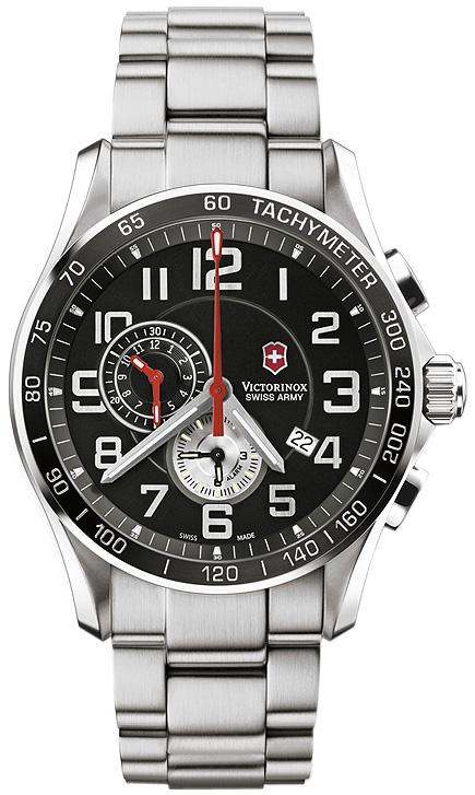 Swiss army chrono classic xls men's watch model: 241443.