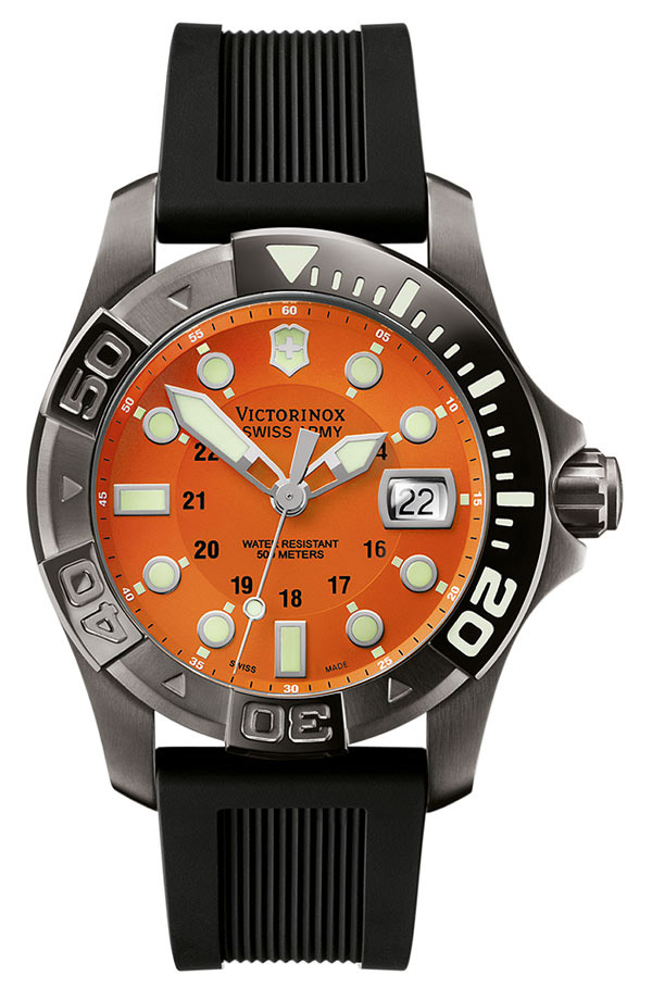 itm swiss olive ebay watch master retail men green s dive mens army victorinox watches divemaster