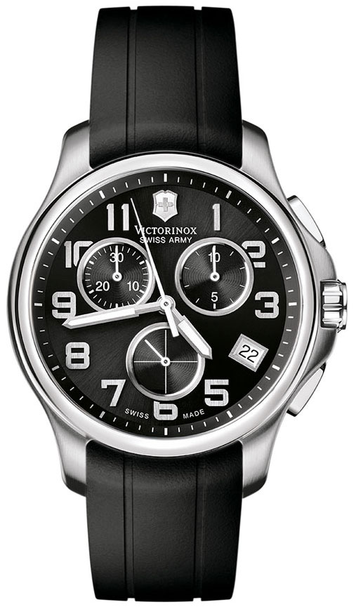 swiss army officers chrono men 39 s watch model 241452