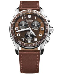 Swiss Army Chrono Classic Mens Wristwatch Model: 241498