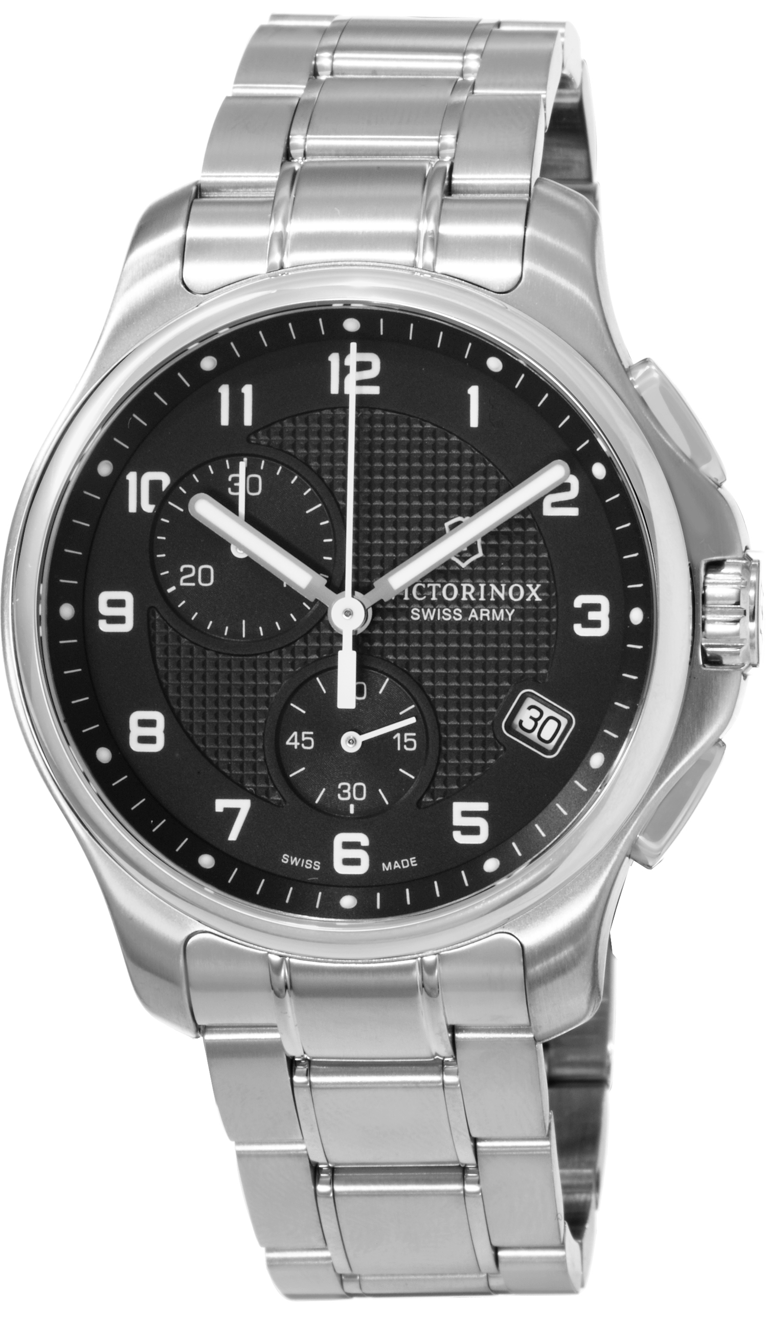 swiss army officers chrono men 39 s watch model 241592