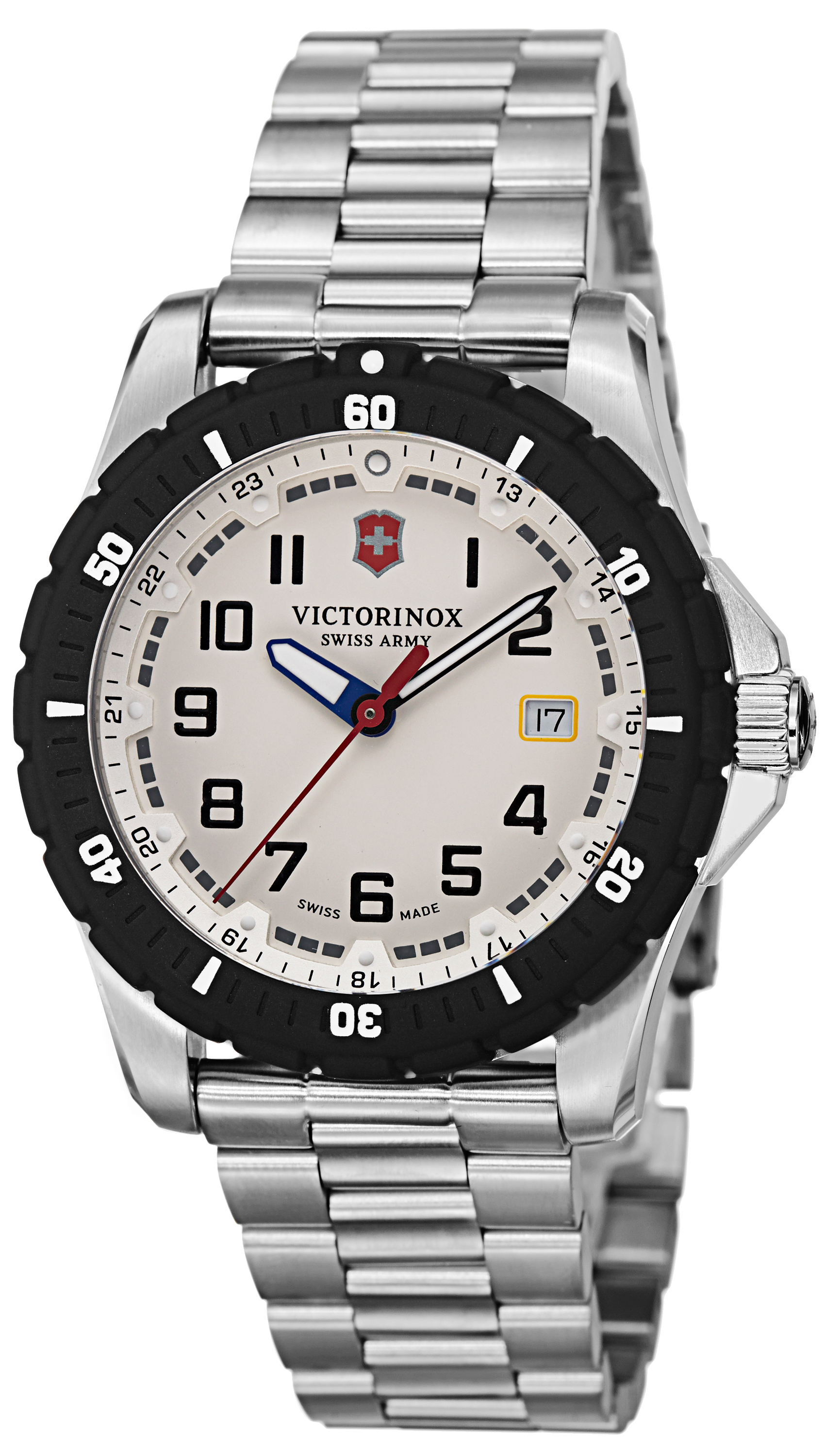 swiss bracelet watches watch maverick products the enlarged victorinox army