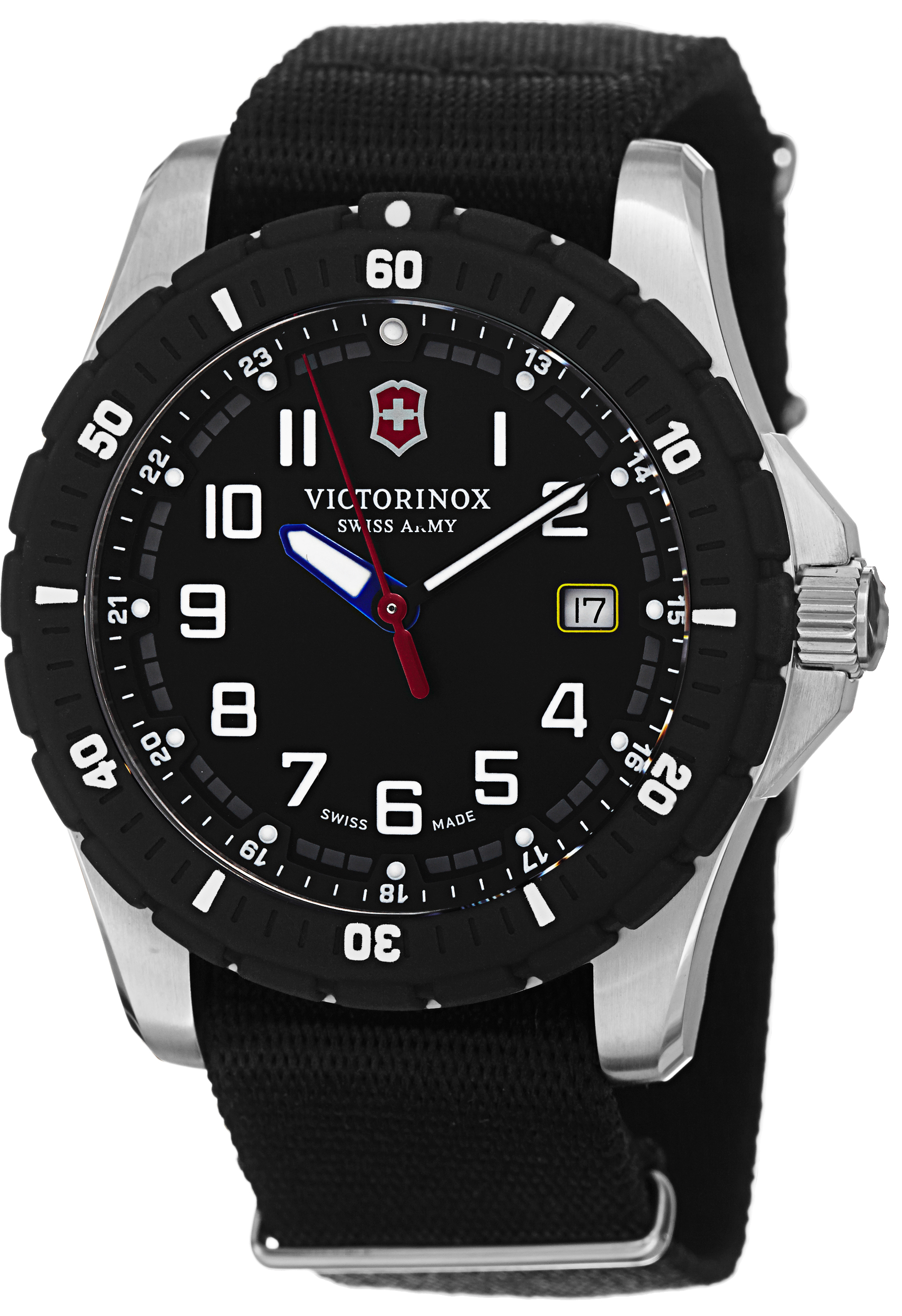 carbon watches black swiss inox watch army products victorinox watchtimesa