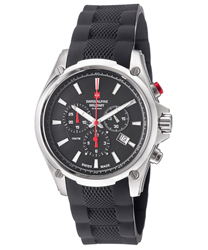 Swiss Alpine Military Red Force Men's Watch Model 1635.9837