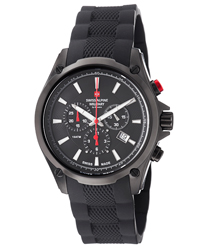 Swiss Alpine Military Red Force Men's Watch Model 1635.9877