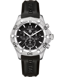 Tag Heuer Aquaracer Mens Wristwatch Model: CAF101E.FT8011