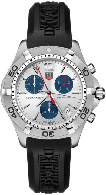 Tag Heuer Aquaracer Quartz Mens Wristwatch Model: CAF1111.FT8010